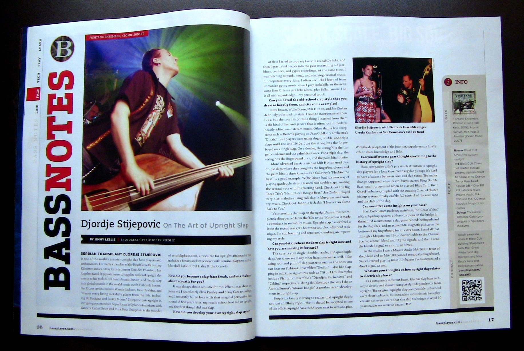 Bass Player Mag June 2013