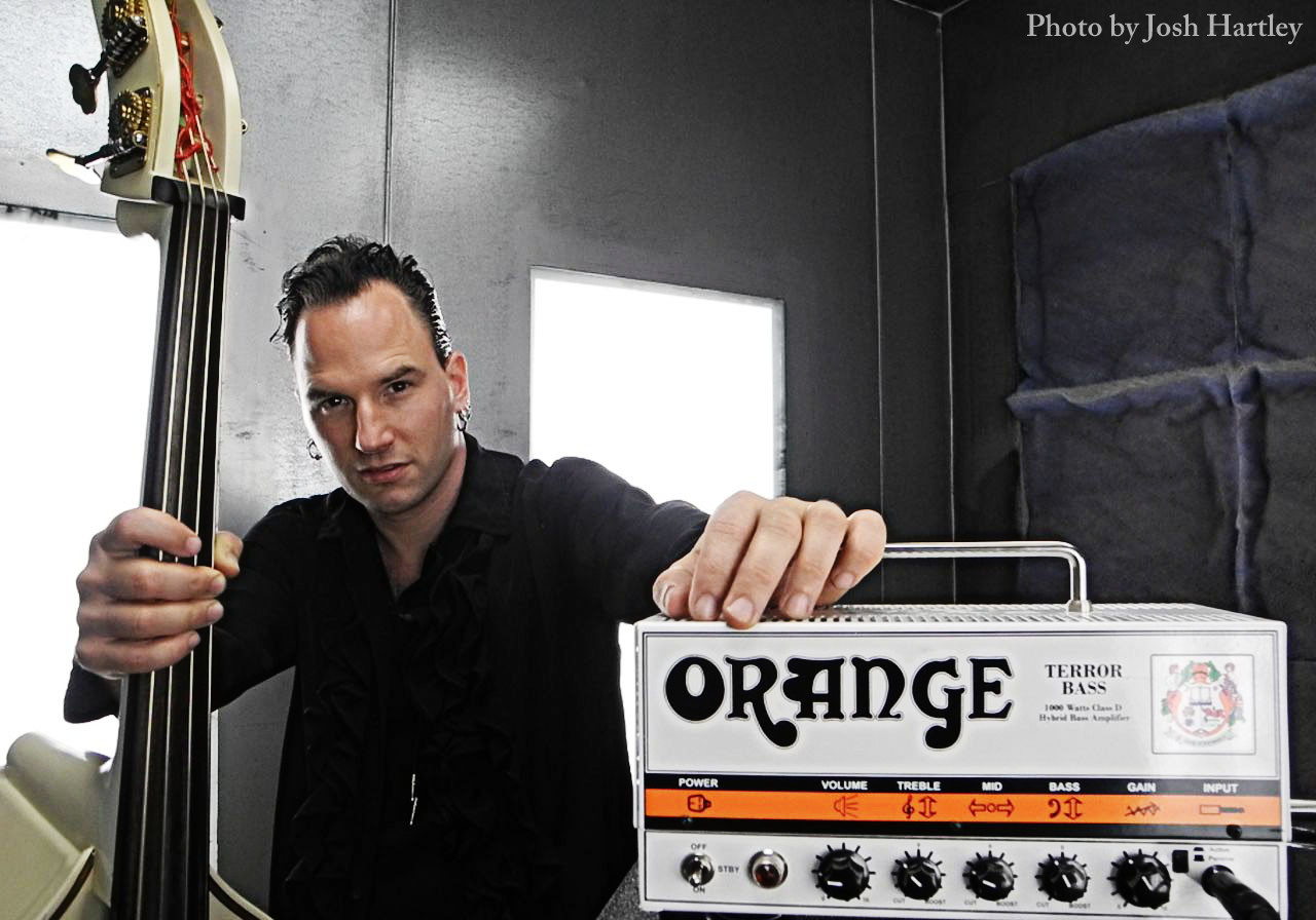 Djordje Stijepovic with Orange Terror by Josh Hartley