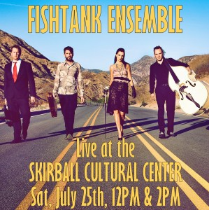 Fishtank Ensemble at the Skirball with Djordje Stijepovic