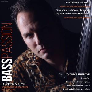 Djordje Stijepovic Adam Ben Ezra Bass Passion Belgrade Beograd Serbia