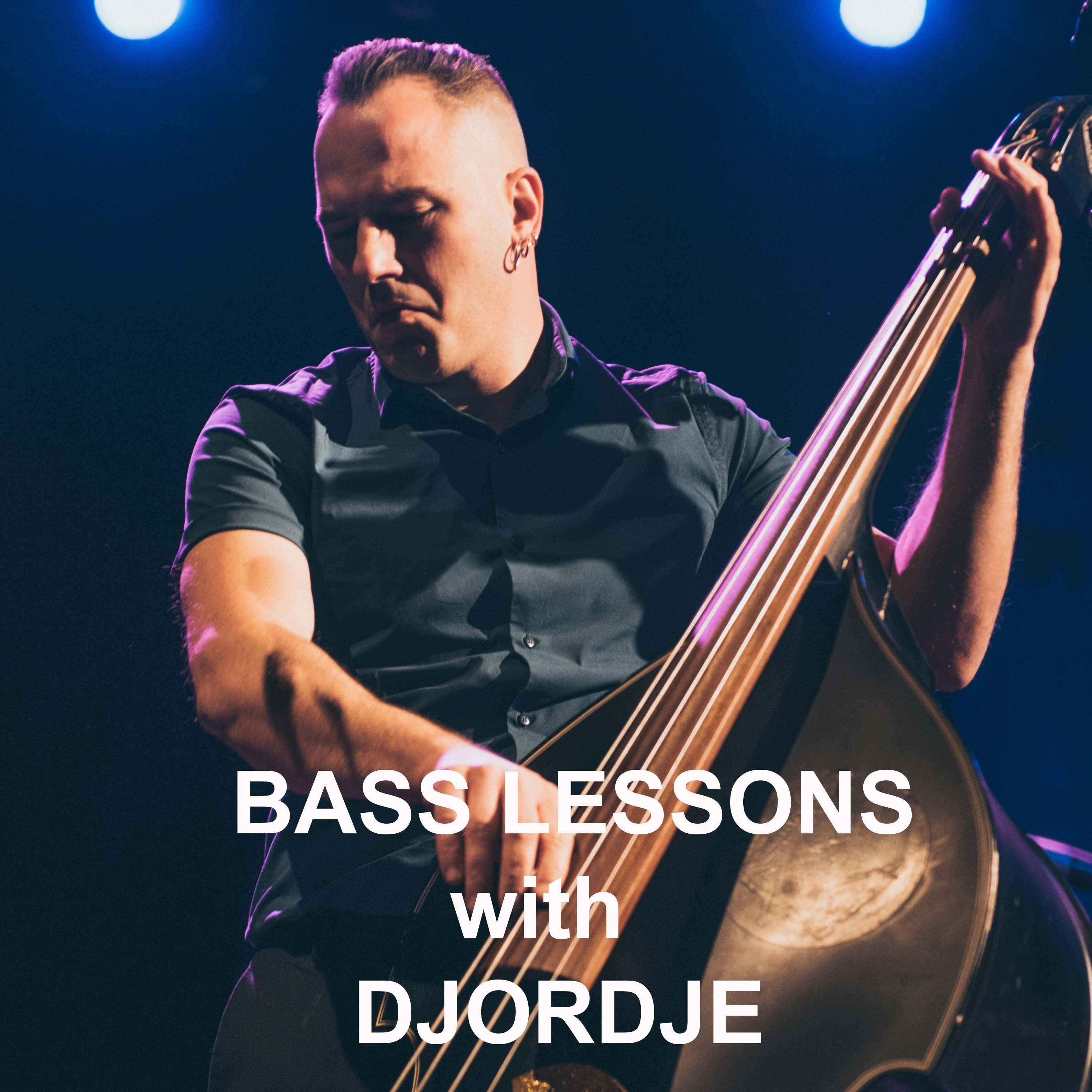 double bass lessons, classical, jazz, rock'n'roll